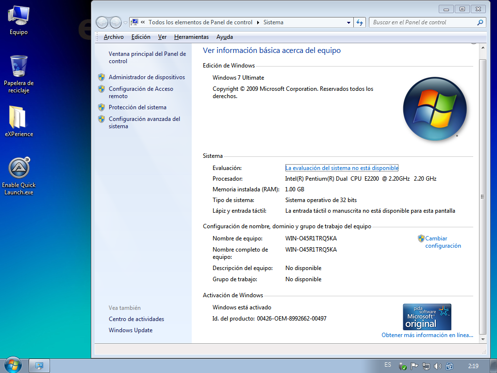 windows 7 tiny 64 bit